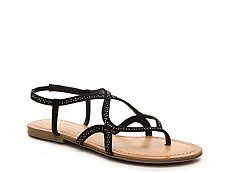 Madden Girl Kissesss Flat Sandal