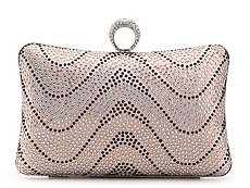 Lulu Townsend Multi Sequin Clutch
