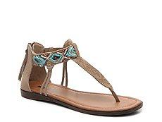 Minnetonka Antigua Flat Sandal