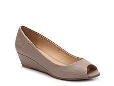 CL by Laundry Hartley Reptile Wedge Pump