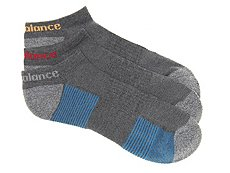 New Balance Zag Performance Mens No Show Socks - 3 Pack