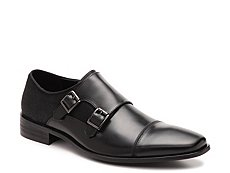 Kenneth Cole Reaction Up In Smoke Monk Strap Slip-On