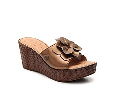 Born Jankel Wedge Sandal