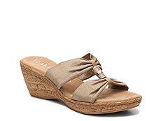 Italian Shoemakers Duchess Wedge Sandal