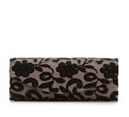 Lulu Townsend Sequin Lace Clutch