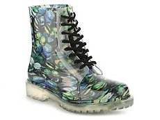 Dirty Laundry Roadie Butterfly Rain Boot