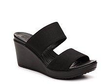 Crocs Leigh II Slide Wedge Sandal