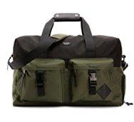 Steve Madden Flannel Duffel Bag