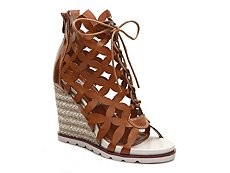2 Lips Too Too Crazy Wedge Sandal