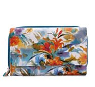 Kelly & Katie Budding Strokes Checkbook Wallet
