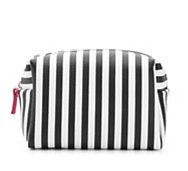 Mix No. 6 Striped Cosmetic Bag