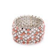 One Wink Multi-Stone Stretch Bracelet