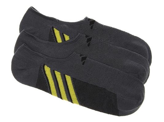 adidas Superlite Mens No Show Socks - 3 Pack