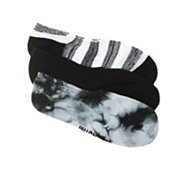 Converse All Star Tie Dye Womens No Show Socks - 3 Pack