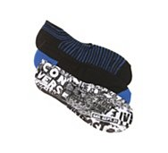 Converse Chuck Taylor All Star Mens Punk Print No Show Liners - 3 Pack