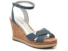 Guess Madolyn Denim Wedge Sandal