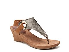White Mountain Aida Wedge Sandal