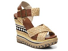 Mia Fareena Wedge Sandal