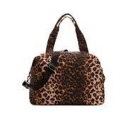 Steve Madden Leopard Weekender Bag
