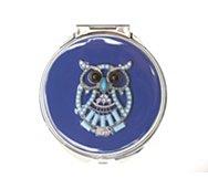 Vetta Blue Owl Compact Mirror