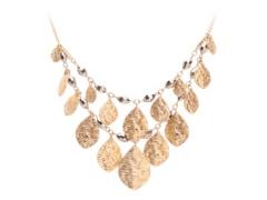 One Wink Beaded Leaf Bib Necklace Dsw