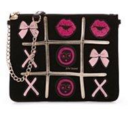 Betsey Johnson Tic Tac Toe Crossbody Bag