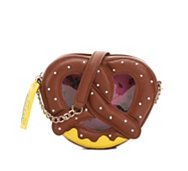 Betsey Johnson Pretzel Crossbody Bag