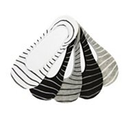 Steve Madden Stripe Womens No Show Liners - 5 Pack