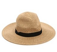 Nine West Ribbon Band Packable Rancher Hat