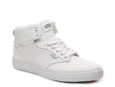 Vans Atwood Hi Perforated Leather High-Top Sneaker - Mens