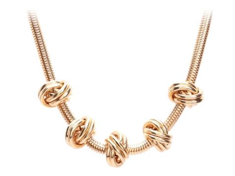 One Wink Knot Bib Necklace Dsw