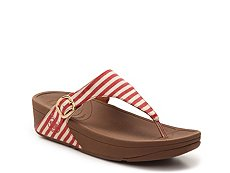 FitFlop Skinny Striped Wedge Sandal