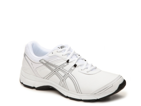 asics walking shoes for men leather