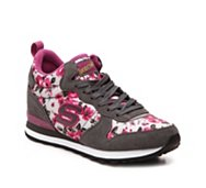 Skechers OG 85 Hollywood Rose Mid-Top Wedge Sneaker