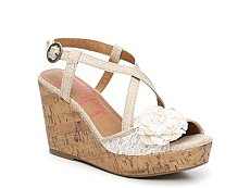 Jellypop Shimmy Wedge Sandal