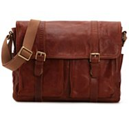 Fossil Estate Leather Messenger Bag