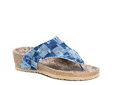 Muk Luks Sue Ellen Wedge Sandal