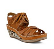 L' Artiste by Spring Step Bramble Wedge Sandal