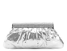 Lulu Townsend Metallic Shine Clutch