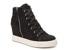 Steve Madden Lynn High-Top Wedge Sneaker