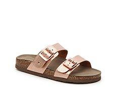 Madden Girl Brando Reptile Flat Sandal