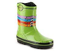 Nickelodeon Teenage Mutant Ninja Turtles Boys Toddler Rain Boot