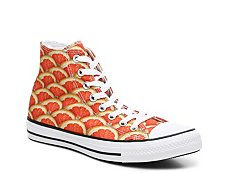 Converse Chuck Taylor All Star Orange High-Top Sneaker - Womens