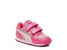 Puma Cabana Racer Glitter Girls Infant & Toddler Sneaker