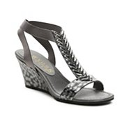 New York Transit Natural Thrill Wedge Sandal