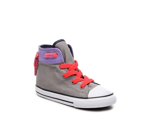 Converse Chuck Taylor All Star Cinch Girls Infant & Toddler High-Top Sneaker