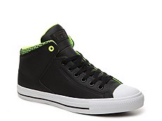Converse Chuck Taylor All Star Street Leather High-Top Sneaker - Mens