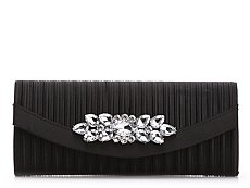 Lulu Townsend Pleated Broach Clutch