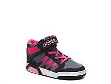 adidas NEO BB9TIS Girls Infant & Toddler High-Top Sneaker
