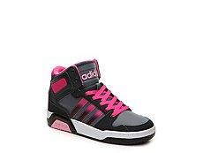 adidas NEO BB9TIS Girls Toddler & Youth Basketball Shoe